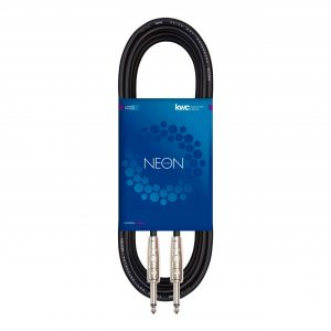 NEON INSTRUMENT CABLE STRAIGHT