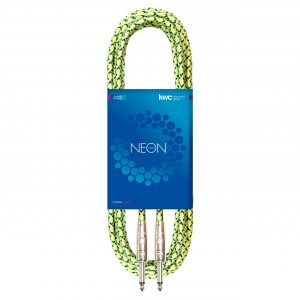 NEON INSTRUMENT CABLE STRAIGHT TEXTILE FL