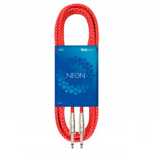 NEON INSTRUMENT CABLE STRAIGHT TEXTILE NA