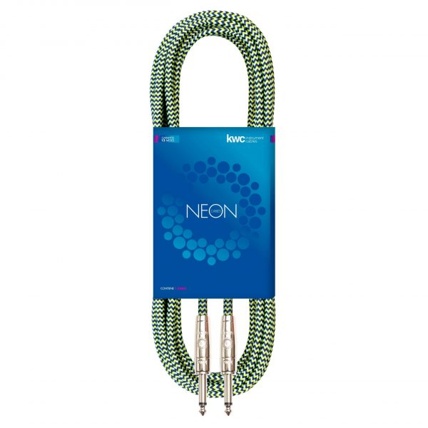 NEON INSTRUMENT CABLE STRAIGHT TEXTILE VE