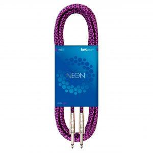 NEON INSTRUMENT CABLE STRAIGHT TEXTILE VI
