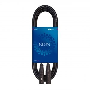 NEON MICROPHONE CABLE XLR MALE – XLR FEMALE
