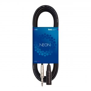 NEON PATCHEO XLR MALE – PLUG STEREO TRS