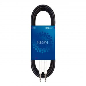 NEON INSTRUMENT CABLE STRAIGHT W / THERMO WHITE