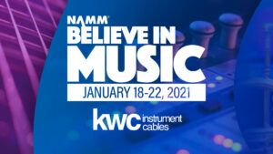 KwCables present at Namm Show 2021